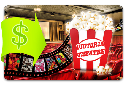 Recharge your Victoria Theatre Gift Card